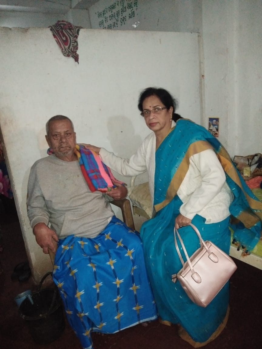 Blanket donated by Life Member Geeta Rout