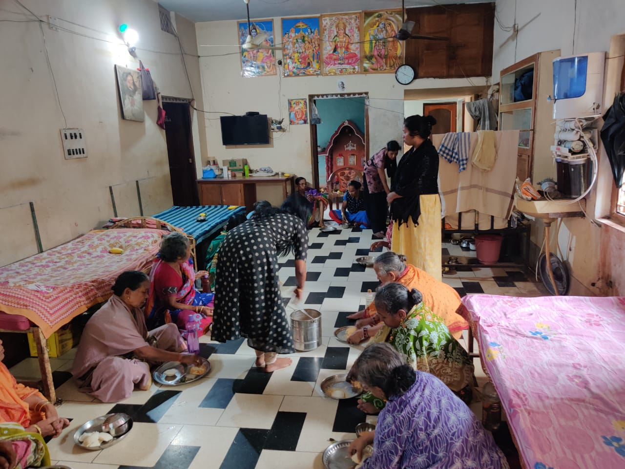 Celebration of Birthday at an Old Age Home near Berhampur
