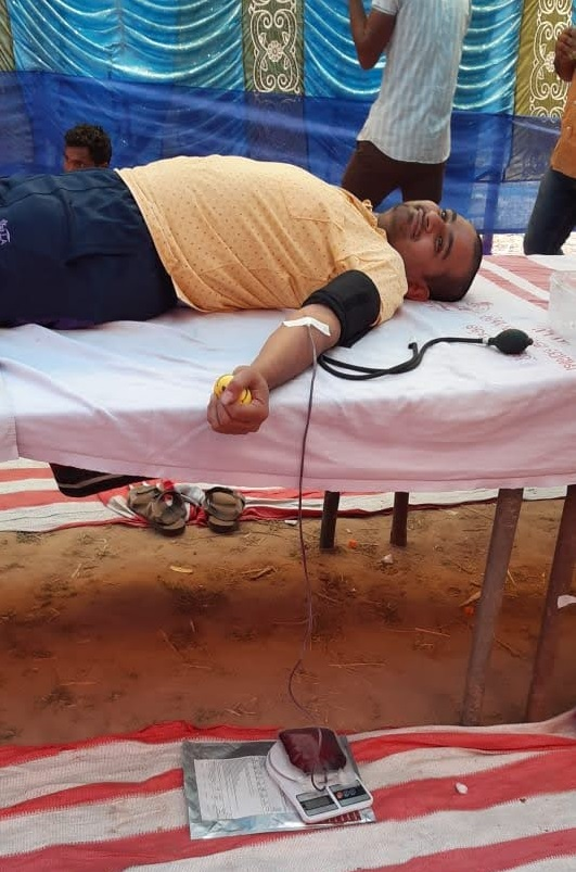 Blood Donation at Cuttack